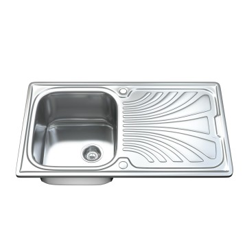 1001 - Single Bowl Kitchen Sink