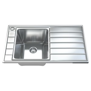 1041 - Single Bowl Kitchen Sink