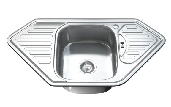 1071 - Single Bowl Kitchen Sink