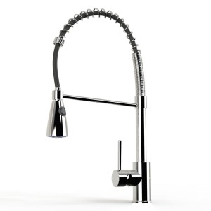 K055 Pull Out Chrome Kitchen Tap